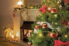 140 jours avant Noël 🎄✨🎅🏼 by Christmas Images Hd, Live Christmas Trees, 3d Christmas, Christmas Fireplace, Beautiful Christmas, Vintage Christmas, Christmas Wreaths, Xmas, Christmas Colors