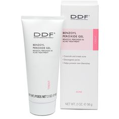 DDF Benzoyl Peroxide Gel (Benzoyl Peroxide 5% Acne Treatment) Good Stuff!