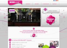 Webové stránky projektu KOCHBLUME
