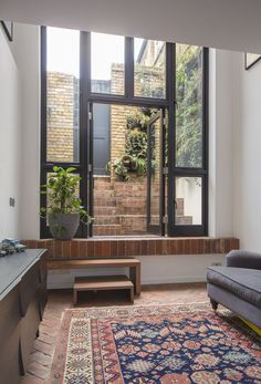 London Terraced Home Living Room