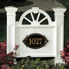 Decorative address signs