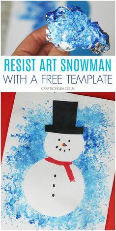 Winter Art Kindergarten, Kindergarten Art Projects, Painting Crafts For Kids, Art For Kids, Toddler Art, Toddler Crafts, Winter Crafts For Toddlers, Winter Art Projects, Preschool Crafts