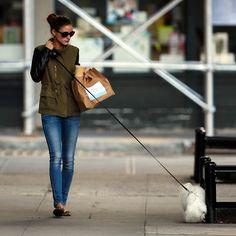 The Olivia Palermo Lookbook : Looking back on Olivia Palermo Style 2012 : Olivia Palermo Walking Mr.Butler