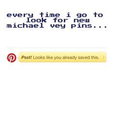 #michaelvey fandom struggles :/ we need more fanssss!!