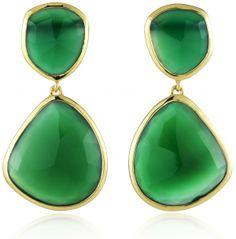 GP+Siren+Cocktail+Earrings+-+Green+Onyx