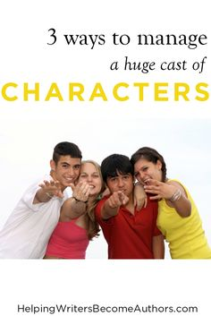 Discover three remedies to the common pitfalls of confusion that befall readers who are at risk of becoming muddled by huge casts of characters.