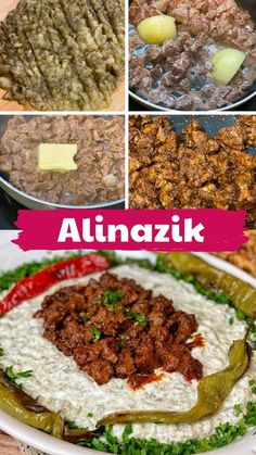 Alinazik those who want to prepare a delicious Kebab is at home here let& just delicious! Turkish Recipes, Ethnic Recipes, Turkish Kitchen, Iftar, Cooking Recipes, Keto, Yummy Food, Vegetables, Desserts