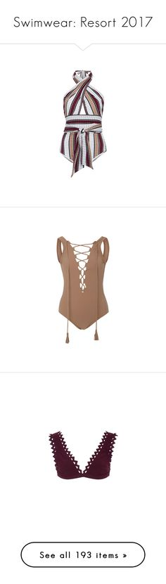 """""""Swimwear: Resort 2017"""" by livnd ❤ liked on Polyvore featuring swimwear, one-piece swimsuits, karla colletto, bikinis, bikini tops, karla colletto swimwear, scallop bikini, scalloped swim top, swim top and swimsuit tops"""