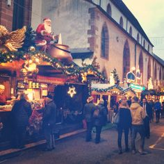 The Basel Christmas Market via I'm an Outlaw, Not a Hero