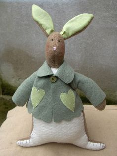Tilda bunny by countrykitty, via Flickr