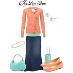 """Good Morning, Beautiful!"" by audge999 on Polyvore  MINUS THE JEWELRY AND NAIL POLISH OF COURSE."