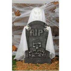 #Lápida descanse en paz  En #Mercadisfraces podrás comprar tus #disraces #originales para tus fiestas de #halloween