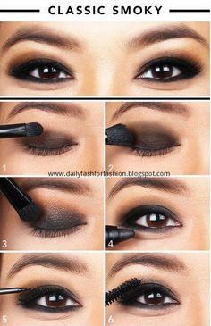 How-To : CLASSIC SMOKY #Makeup #Tutorials