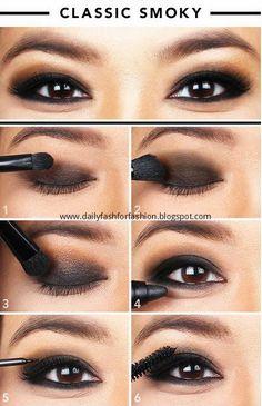 How-To : CLASSIC SMOKY #Makeup #Tutorials