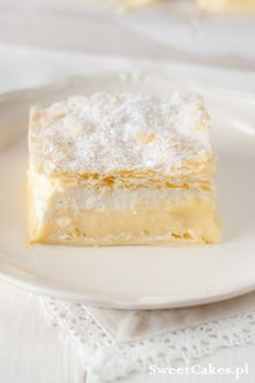 Kremówka (Napoleonka) Custard Cake