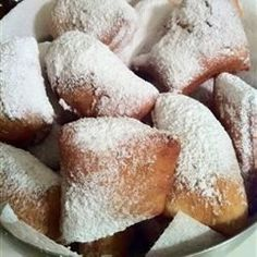 A traditional New Orleans-style recipe for their famous beignets! Grab a cafe au lait and you're set!