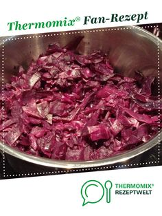 Red cabbage from sucrose. A Thermomix ® recipe from the side dishes category at www.de, the Thermomix ® Community. Red cabbage Ini Art ineskunst Cooking & Co. with Thermomix Red cabbage from sucrose. A Thermomix ® recipe from the side di Simple Noodle Soup Recipe, Easy Soup Recipes, Healthy Chicken Recipes, Easy Healthy Recipes, Mexican Food Recipes, Easy Meals, Healthy Soup, Pork Recipes, Red Cabbage