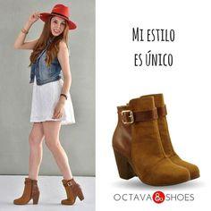 Mi estilo es único #yoamoloszapatos #Octavashoes #Moda #Botademujer #modaalcaminar #Estilo #Glamour #Mujerbonita #compraonline http://ift.tt/2w7TsXW