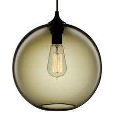Solitaire Pendant by Niche Modern. Shade comes in numerous colors. At Lumens.com