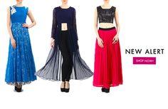 NEW ALERT: Shop the exquisite collection of Divya Kanakia at our website. Shop now: http://www.glitstreet.com/designer/divya-kanakia/