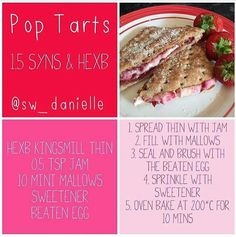 Sw_ Danielle posts these fab SW recipes on instagram
