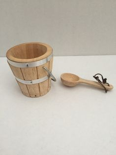 Pleasant company kirsten wood #bucket ladle #school american girl doll #wooden ,  View more on the LINK: http://www.zeppy.io/product/gb/2/152389559150/