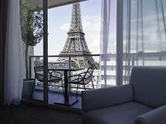 View of Eiffel Tower- Pullman Paris Tour Eiffel (Paris, France) | Travelocity.com