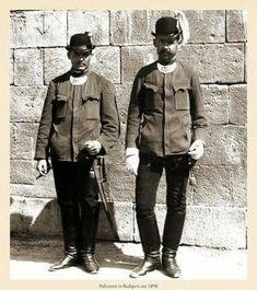 1895. Budapesti rendőrök.