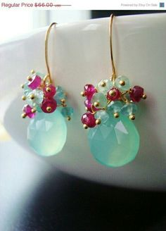 Like the combination of fuschia and aqua