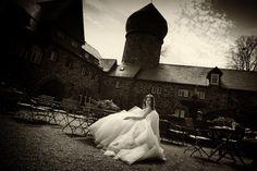 Wedding romantic in a German Castle build 1206
