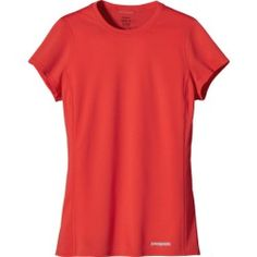 Patagonia Fore Runner Shirt - Short-Sleeve - Women's Catalan Coral, S - product - Product Review