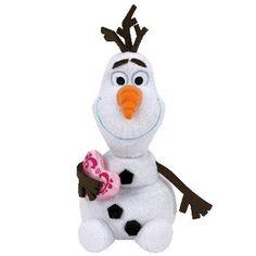 Ty Disney Frozen Olaf - Snowman with Heart Ty http://www.amazon.com/dp/B00QXK2ZJU/ref=cm_sw_r_pi_dp_zJyWub1AX3VZG