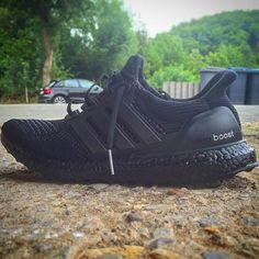#custom #adidas #ultra #boost #triple #black #love #this #sneaker