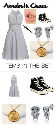"""Annabeth Chase At Prom"" by hope-257 ❤ liked on Polyvore featuring art"