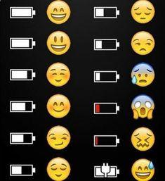 Estado de ánimo de las baterías.