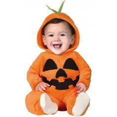 Disfraz de Calabaza Divertida para Bebé
