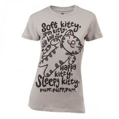 "The Big Bang Theory ""Soft Kitty"" Women's T-Shirt - I never said grown-up looks. :)"