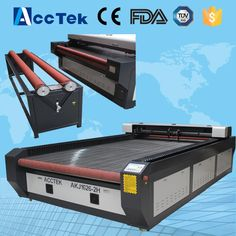 AKJ1626 Professional Co2 laser stenciling machine/cnc cutting machine made in China for glass blanket clothes wood fabric #Affiliate