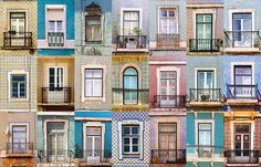 Fotografía Windows of Lisbon por Diana Oprean en 500px Lisboa, Portugal