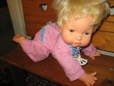 Oopsy Daisy Doll!! @Michelle Huggins remember how mama use to wake us up with this doll. Not fun.