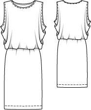 j.kaori designs: My Very Own Maxi Dress  Burda 5/2010-105