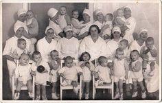 Orphanage Nurses Group with Abandoned Babies Vintage Photo Latvia 1920s | eBay