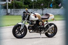 HONDA MSX125 Cafe Racer   garagestaff