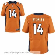 d6015e80f Brandon Stokley jersey Men s Nike elite Denver Broncos Orange   cheap Broncos  jerseys Broncos Fans