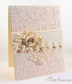 ELegant Rose, Butterfly and Flourishes by kittie747 - Cards and Paper Crafts at Splitcoaststampers