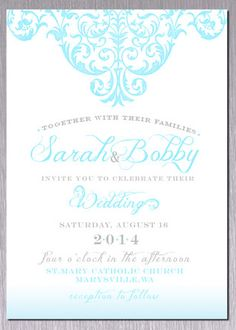 princess wedding invitation from wildheart paper #invitation #stationery #wedding https://www.etsy.com/listing/162735691/princess-wedding-invitation-bella