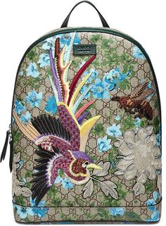 This isn't your childhood backpack: Gucci XL GG Floral-Print Backpack ($2,490)
