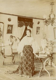Portrait of a Filipina from Bais, Eastern Negros -- 1890