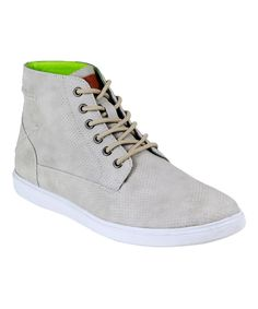 Beige Chase Hi-Top Sneaker