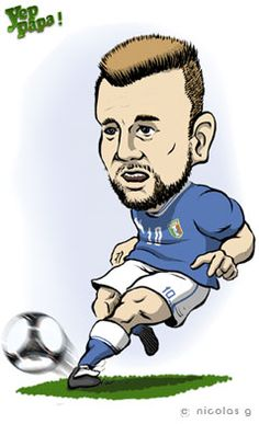 Antonio Cassano / Football  -- Live vote --  Yep Papa! allows the viewer to share his views live on his favorite football player.